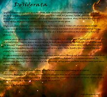 Desiderata over star formation by Eti Reid