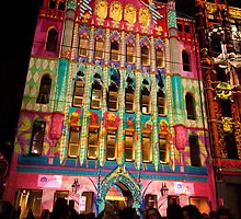 Melbourne - White Night 10 by DavidsArt