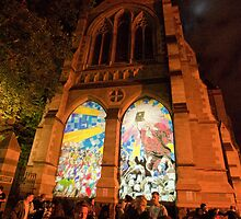 Melbourne - White Night 14 by DavidsArt