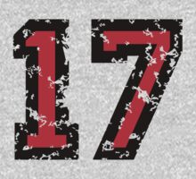 Number Seventeen - No. 17 (two-color) red by theshirtshops