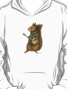 Squirrel with a banjo T-Shirt
