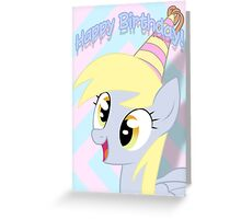 Derpy Hooves Birthday Card - Postcard My Little Pony Greeting Card