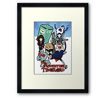 Adventure Time-Lord Generation 12 Framed Print