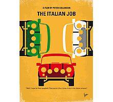 No279 My The Italian Job minimal movie poster Photographic Print