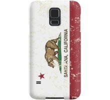 San Jose California Republic Flag Distressed  Samsung Galaxy Case/Skin