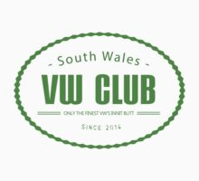 South Wales VW Club T shirt & Stickers by jay007