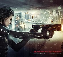 Resident Evil Retribution  by sethskywalker