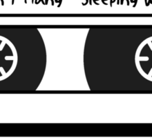 Sleeping With Sirens Cassette Tape Sticker