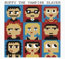 Buffy 8-Bit by Zack Cogburn