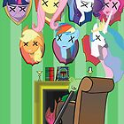 My dead ponnies by 3878 Decode