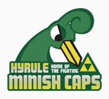Hyrule Fighting Minish Caps by jayrokk