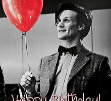 Matt smith Happy Birthday! Card by Amy Whyte