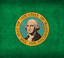 Washington State Flag by flaglover