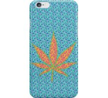 Psychedelic Cannabis Leaf iPhone Case/Skin