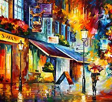 THE SWAN - LONDON by Leonid  Afremov