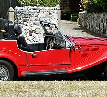The Classic Red Convertible  by PictureNZ