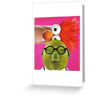 The Muppets - Bunsen and Beaker Greeting Card