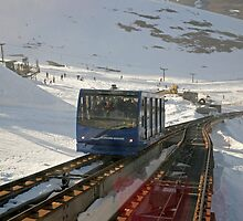 Cairngorm Funicular Railway by Keith Larby
