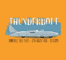 Captain Eyston's Thunderbolt Land Speed Record Car by velocitygallery