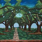 Oak Alley Louisiana by victorgroza