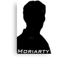 James Moriarty Silhouette. Canvas Print