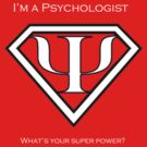 Psychology Superpower (uni with words) by Micah D'Archangel
