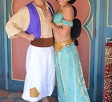 Aladdin & Jasmine by AngelaHRey