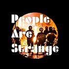People are strange (galaxy edition) by SasquatchBear
