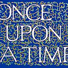 Once Upon a Time Blue by Donna Huntriss