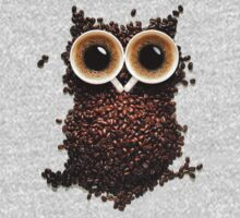 Coffee Owl Kids Clothes