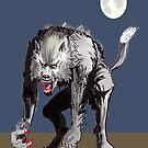 Beastial Werewolf by mattycarpets