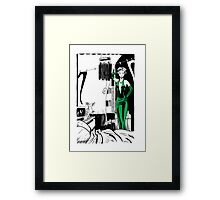 Tales To Admonish - Bullet Gal Framed Print