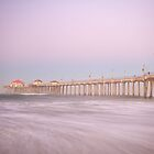 Huntington Beach Pier, California by RondaKimbrow