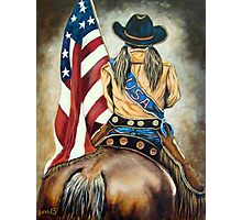 Cowgirl Olympian  Photographic Print