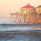 Ruby's on the Huntington Beach Pier by RondaKimbrow