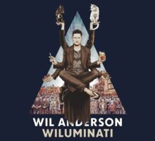 Wil Anderson: Wiluminati 'Triangle' by James Fosdike