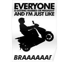 BRAAAP! Poster