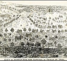 AUSTIN TEXAS 1844 by Daniel-Hagerman