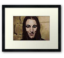 """Chris """"Motionless"""" Cerulli Framed Print"""