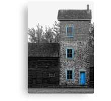 Water Tower Blues Canvas Print
