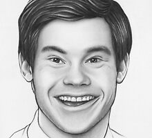 Adam DeVine Workaholics Portrait by OlechkaDesign