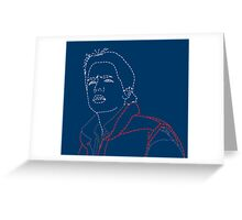 Invisible Marty Greeting Card