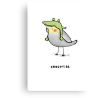 Crocotiel Canvas Print