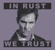 In Rust We Trust - Blended shirt design by EvaEV