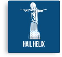 Hail Helix Canvas Print