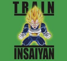 Train insaiyan - Vegeta by BadrHoussni