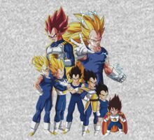 Vegeta Stages by BadrHoussni