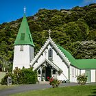 St Patrick in Akaroa  New-Zealand by 29Breizh33