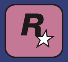 Rockstar logo Pink by StraightEK