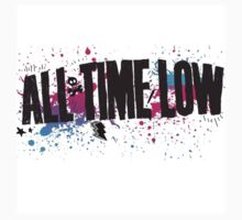 All Time Low logo merch by milliontheearth